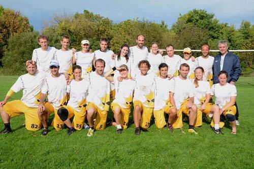 L'équipe du Sun au championnat d'Europe des clubs 2013